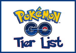 Pokemon Go Tier List