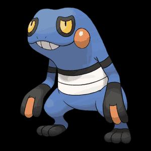Croagunk Evolution