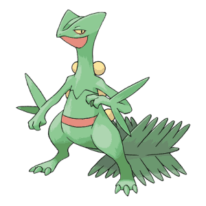 Sceptile Pokemon Go