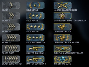 COUNTER STRIKE: GLOBAL OFFENSIVE RANK BOOST