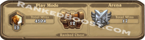 HEARTHSTONE RANKED CHEST BOOST