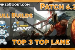 Top Lane Build Guides • LoL Builds 6.3