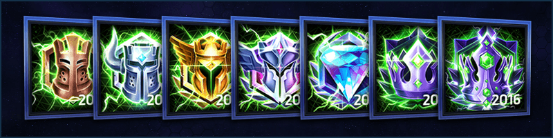Hero League Portrait Season Rewards