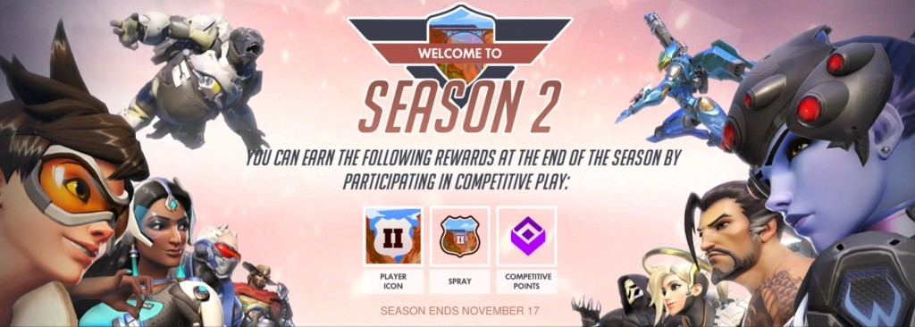 Overwatch Season 2 Rewards