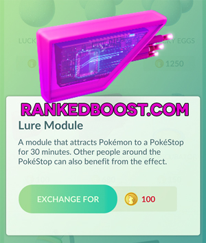 Pokemon Go Tier List Lure Module