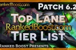 Top Lane Tier List 6.21