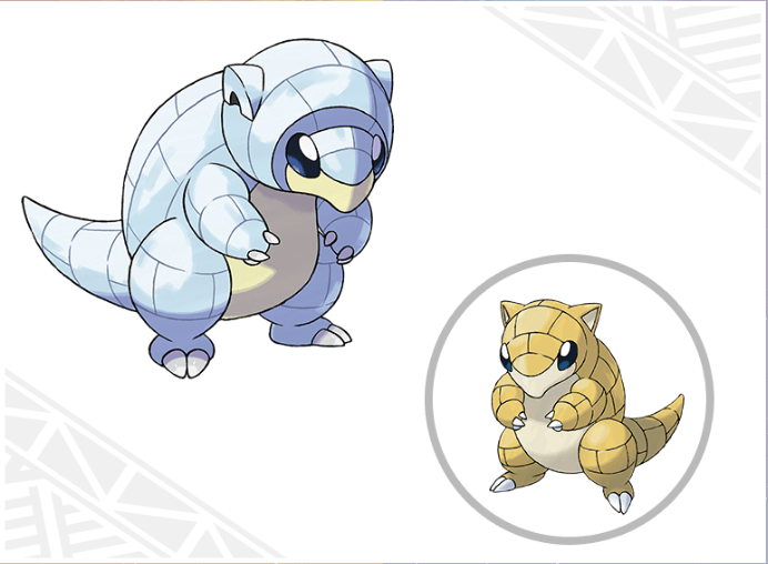 Alolan Sandshrew Pokemon Sun & Moon