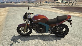 GTA 5 PCJ-600 Motorcycle Cheat