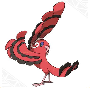 Oricorio (Baile Style) Pokemon Sun & Moon