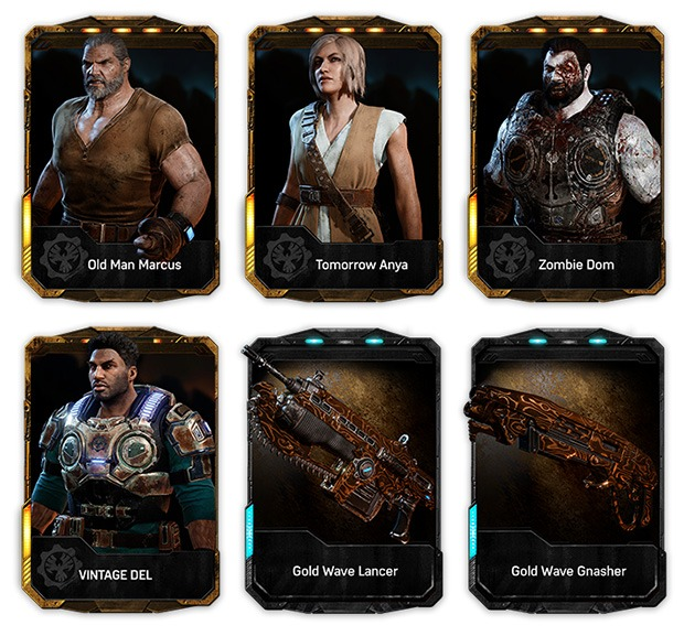 Gears 4 Weapon Skins PreOrder