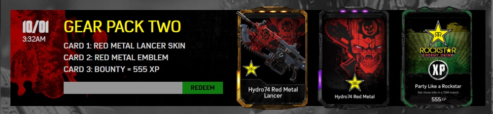 Skin Codes For Gears 4