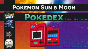 Pokemon Sun & Moon Pokedex