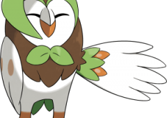 Dartrix Pokemon Sun and Moon