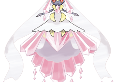 Diancie Mega Pokemon Sun and Moon