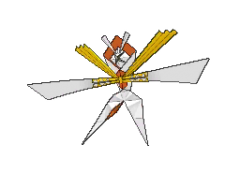 Kartana Pokemon Sun and Moon