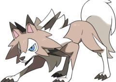 Lycanroc Midday Form Pokemon Sun and Moon
