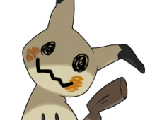 Mimikyu Pokemon Sun and Moon