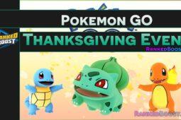 Pokemon GO Thanksgiving