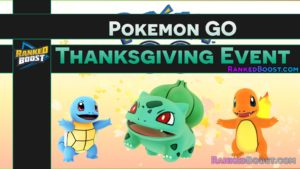 Pokemon GO Thanksgiving