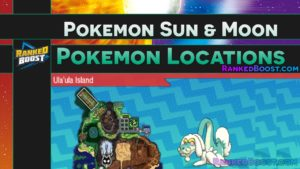 Pokemon Sun and Moon Pokemon Locations