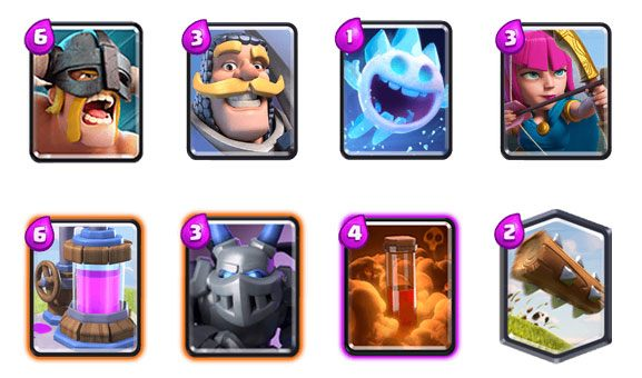 Clash Royale Cards Tier List Best Cards In Arena 2017
