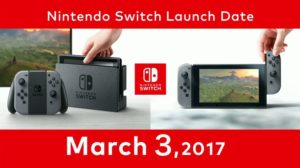 Nintendo Switch Game Release Dates