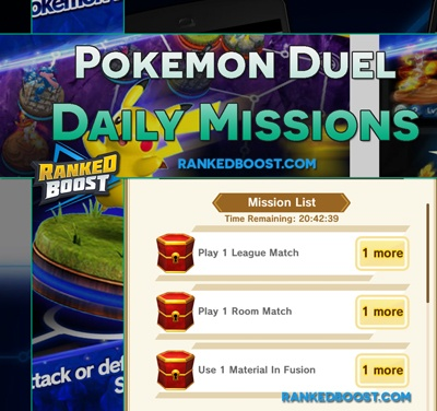 Pokemon Duel Daily Missions
