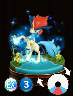 Pokemon Duel Keldeo