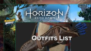 Horizon Zero Dawn Best Outfits