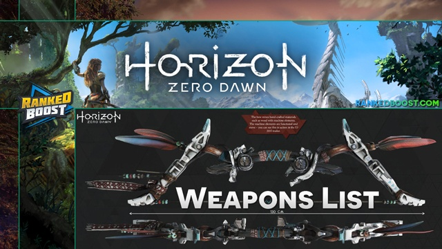 horizon zero machine list