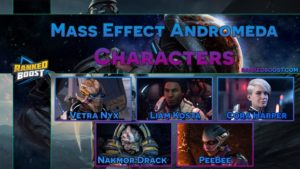 Mass Effect Andromeda Best Characters