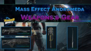Mass Effect Andromeda Weapons and Gear