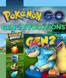Pokemon GO Gen 2 Evolution Chart