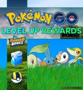 Pokemon Go Level Up Rewards