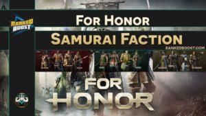For Honor Samurai Faction