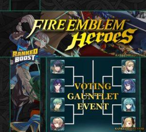 Fire Emblem Heroes Voting Guantlet