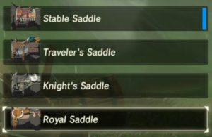 Saddle Horse Items