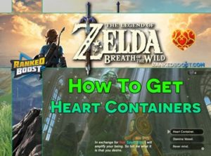 Zelda Breath of the Wild Heart Containers