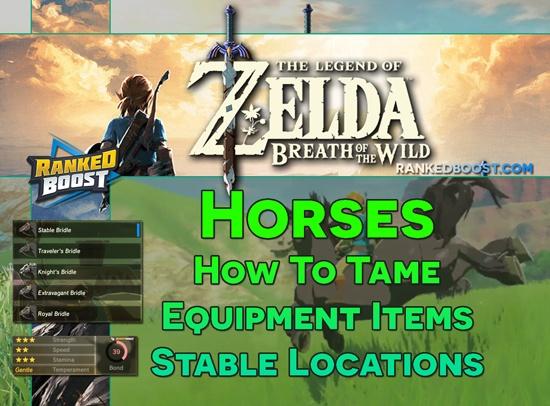 Zelda-Breath-of-the-Wild-Horse